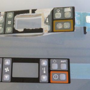 finished membrane switch keypad with original