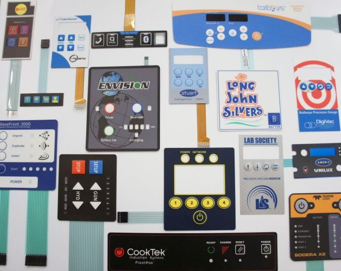 membrane switch collage