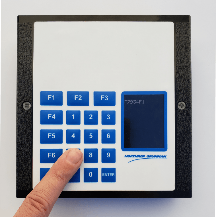 Membrane Switch with LCD display