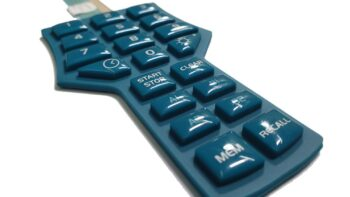 Permalink to: Custom Rubber Keypads